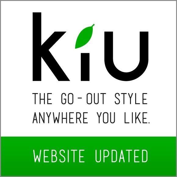 KiU公式サイトがオープンしました。