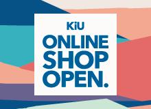 『KiU ONLINE SHOP OPEN!!』