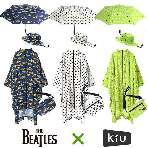 ザ・ビートルズ × KiU コラボレインギア 発売